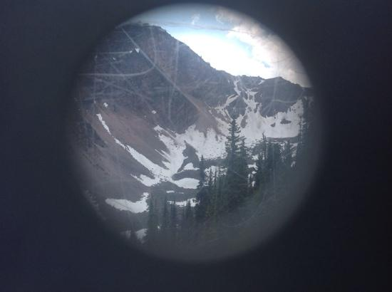 Golden, Canada: keyhole view