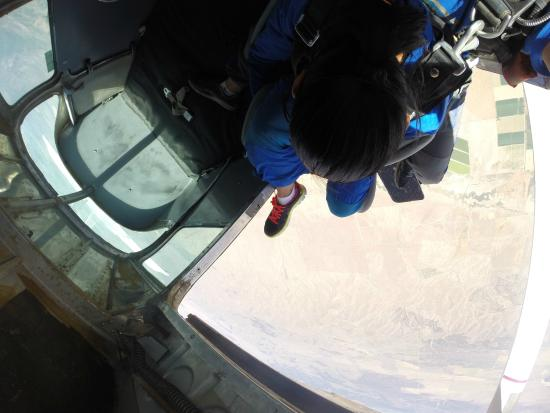Skydive The Wasatch: There's no going back!