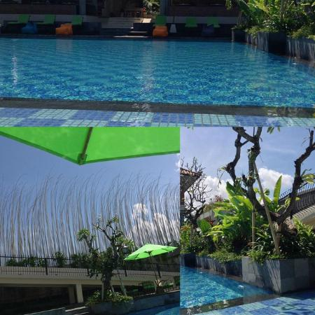 Maison at C Boutique Hotel & Spa Seminyak: View from my seat by the pool