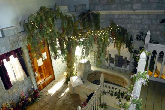castle garden entry level from upper level indoor balcony rh tripadvisor com