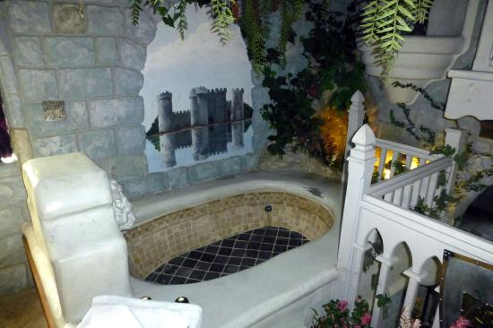 castle garden hot tub picture of castle wood cottages big bear rh tripadvisor co za