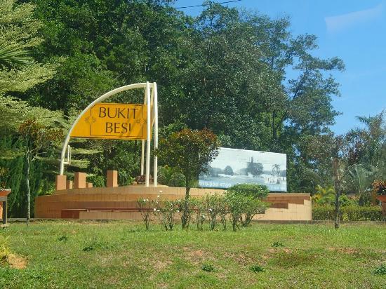 Dungun District, Malaysia: Bukit Besi Entrance
