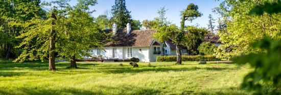 Schloss Schoenau Jagdhaus: Herrliche Ruhelage mitten im Privatpark