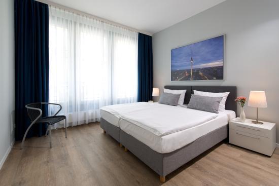 ApartHotel Residenz Am Deutschen Theater: Business Apartment Schlafzimmer