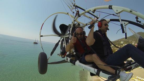 TRIKEFORCE - Powered Paragliding: Fly in Alanya beach