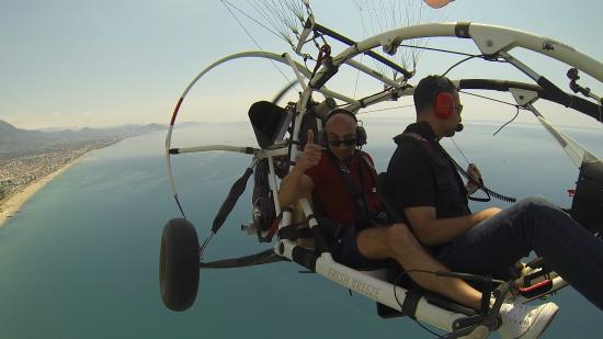 TRIKEFORCE - Powered Paragliding: Over Alanya city