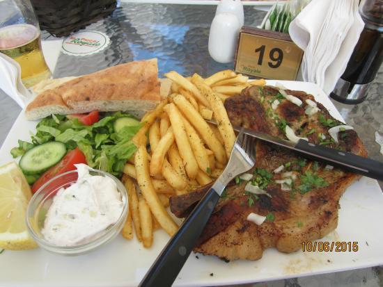 La Place Royale: Одно из блюд