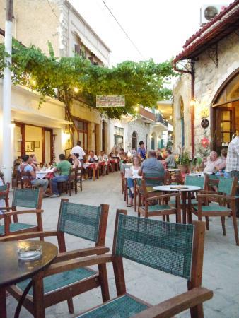 Villa Kynthia: The Village