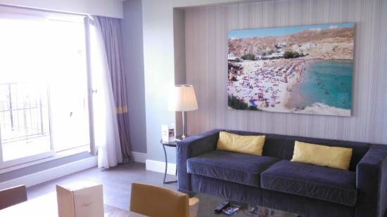 Hôtel L'Edmond, Paris : Edmond living room