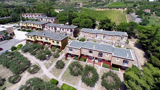 Bluesun Resort Bonaca : Aerial View