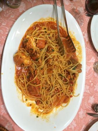 Spaghetti house & fish : Linguine con cicale greche ....e le cicale greche...