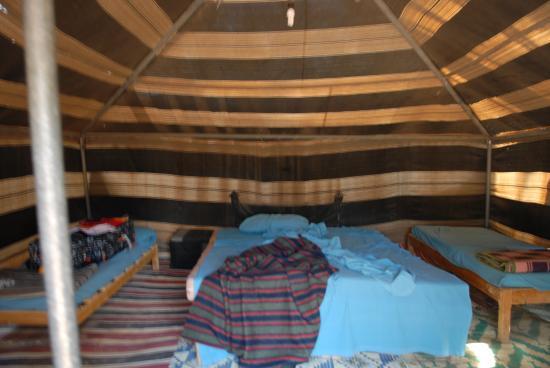 Campement Ain Essebat: łóżka