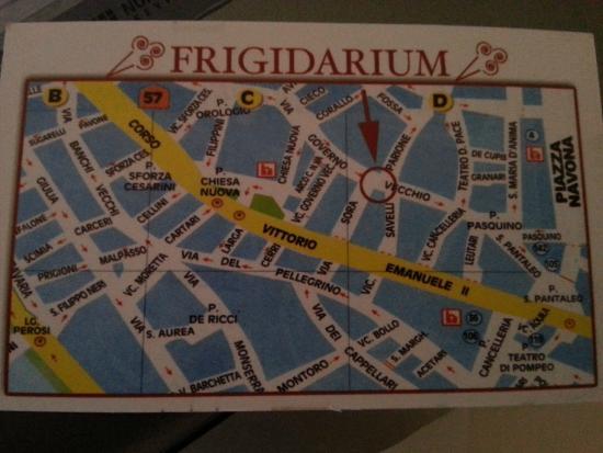 La Gelateria Frigidarium: Adres