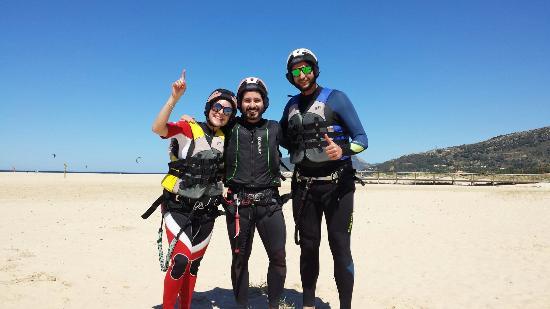Costa de la Luz, İspanya: KTS - Kite Tarifa School