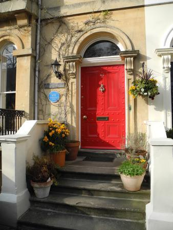 Hanover House: Front door