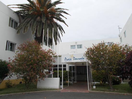 Hotel Praia Dourada : Entrada do Hotel