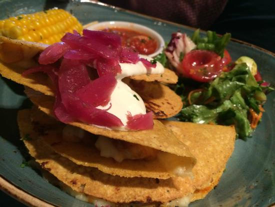 Chiquito - Cardiff Bay - Red Dragon Centre: Chicken & Chorizo Tacos