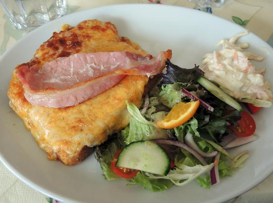 The Tea Station: Welsh rarebit in Wales