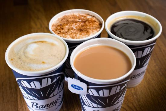 Banny's Restaurant: Banny's Burnley Freshly Brewed Hot Drinks