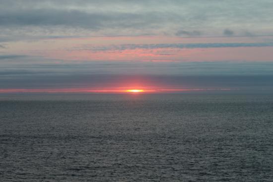 Sandrock Holiday Hostel : More sunset