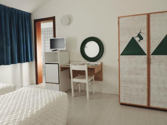 Hotel Giardino: camera doppia verde