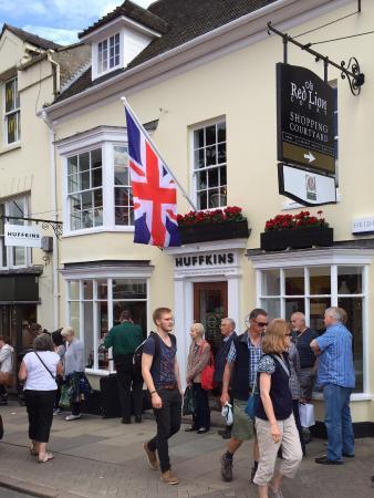 Photo of Cafe Huffkins at 1 Old Red Lion Court Bridge Street, Stratford-upon-Avon CV37 6AB, United Kingdom