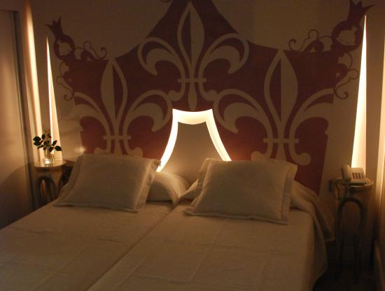 La Princesa y El Guisante Hotel: iluminación romántica