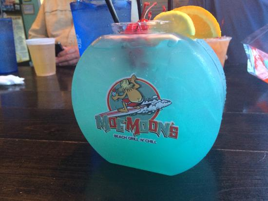 Loved my fishbowl drink picture of moe moons myrtle for Fish bowls drinks