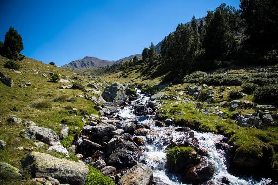 Escaldes-Engordany, Andorre : Valle del Madriu-Perafita-Claror - Vallée du Madriu-Perafita-Claror