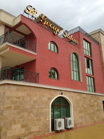 Saint George Palace Hotel: Вид отеля