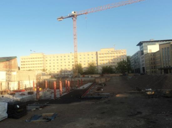 Jugendgastehaus Dresden: Visão da esquina