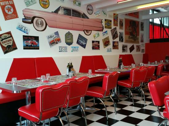 America Graffiti Diner Restaurant Treviso - Picture of America ...
