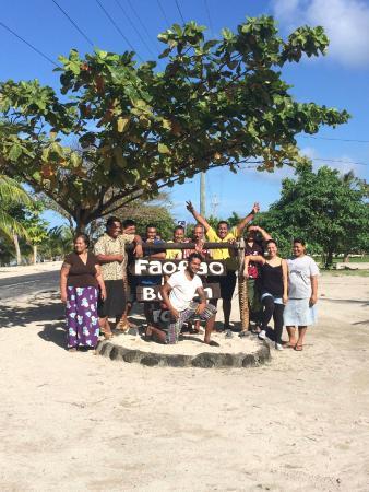 Faofao Beach Fales Staff