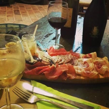 Verucchio, Italy: Il tagliere della degustazione