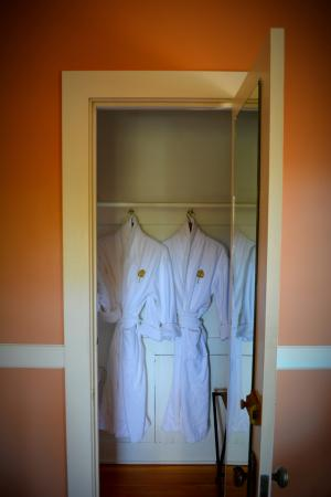 The Golden Leaf Inn: our robes!