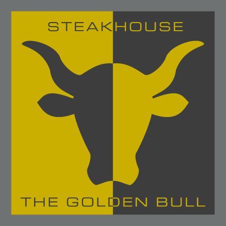 Steakhouse The Golden Bull Brand Logo