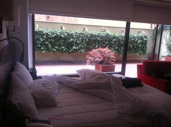 Lugano Imperial Suites: terraza propia
