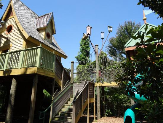 Treehouse in My Big Backyard Picture of Memphis Botanic Garden