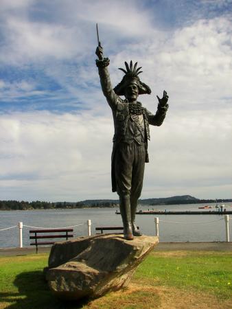 Nanaimo, Kanada: Statue