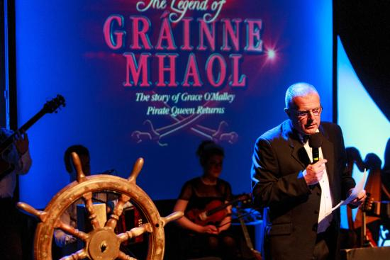 The Legend of Grainne Mhaol: The opening night of the Gráinne Mhaol show 2015