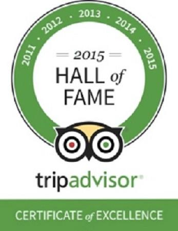 The Garsdale: Trip Advisor Certificate of Excellence Award 2015