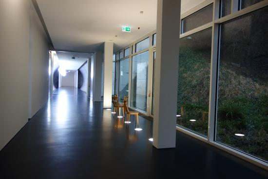 Arp Museum: тоннель