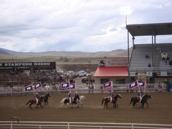 Ponderosa Campground: Cody Rodeo - a must see!