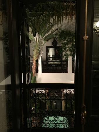 Riad Amanza : vue de notre chambre