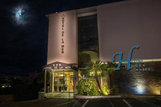 Hotel de la Mer : La façade de l'hôtel