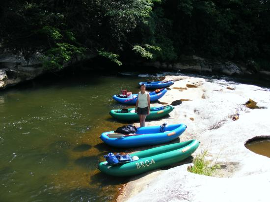 Bakersville, NC: Daily float trips