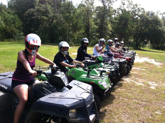 Carolinabackwoods ATV Tours