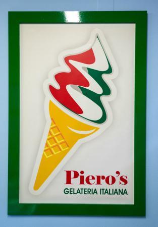 Piero's Gelateria Italiana: Il nostro gelato tricolore