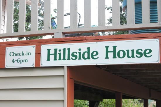 Hillside House Bed and Breakfast: And Do Not Try to Check In Early.
