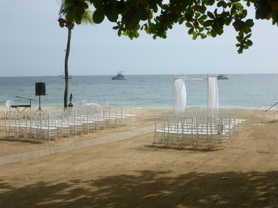 Sandals Negril Beach Resort Spa Wedding On The